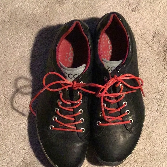 f7ee2a4362c Ecco Shoes | Mens Tie Golf Sneakers | Poshmark